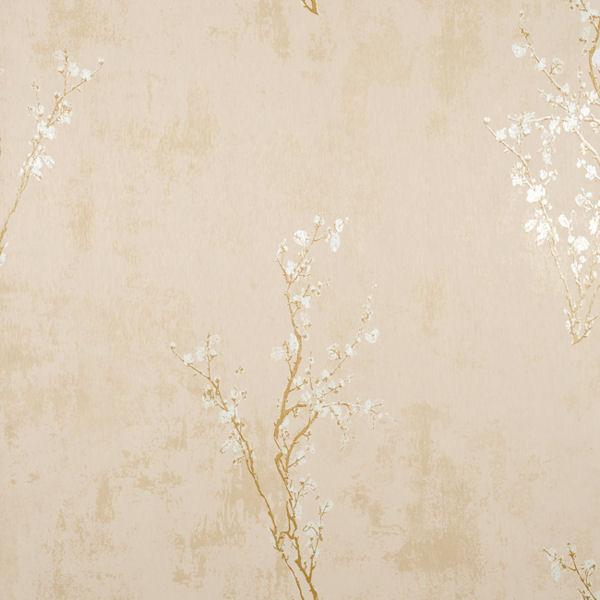 Tan and Gold Zen Wallpaper   Wall Sticker Outlet 600x600