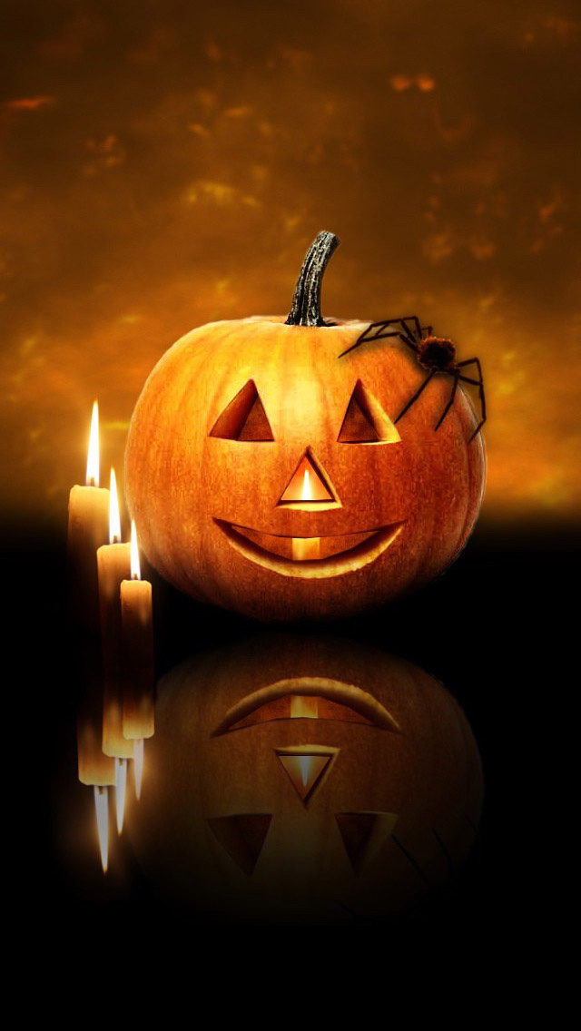 50 Live Halloween Wallpaper For Iphone On Wallpapersafari