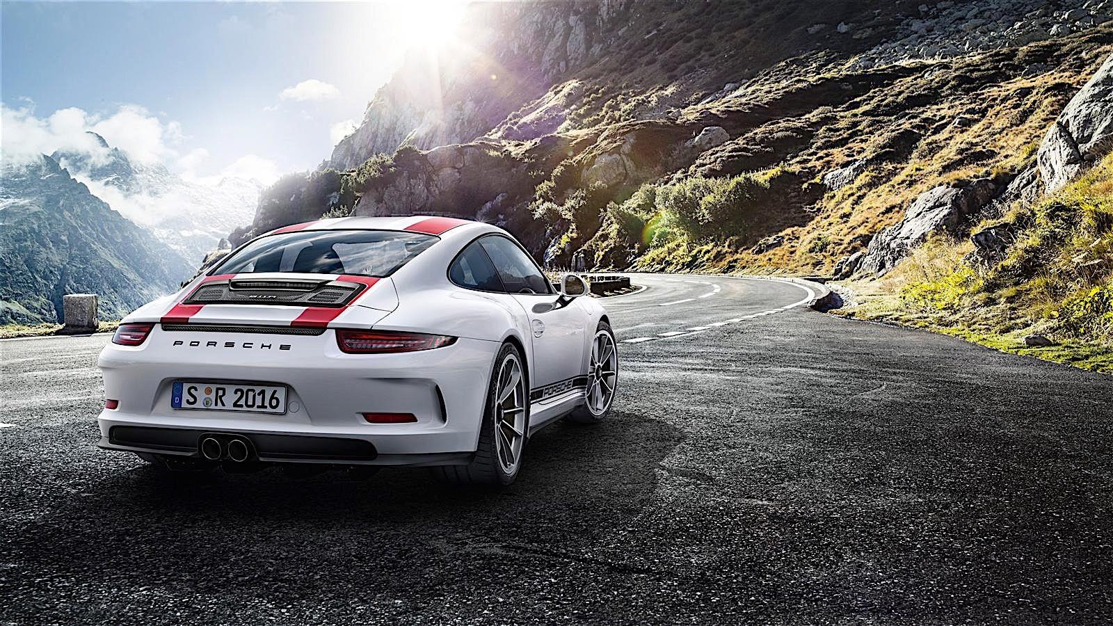PORSCHE 911 R   2016 2017   autoevolution 1600x900