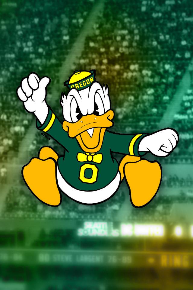 oregon ducks logo wallpaper wallpapersafari