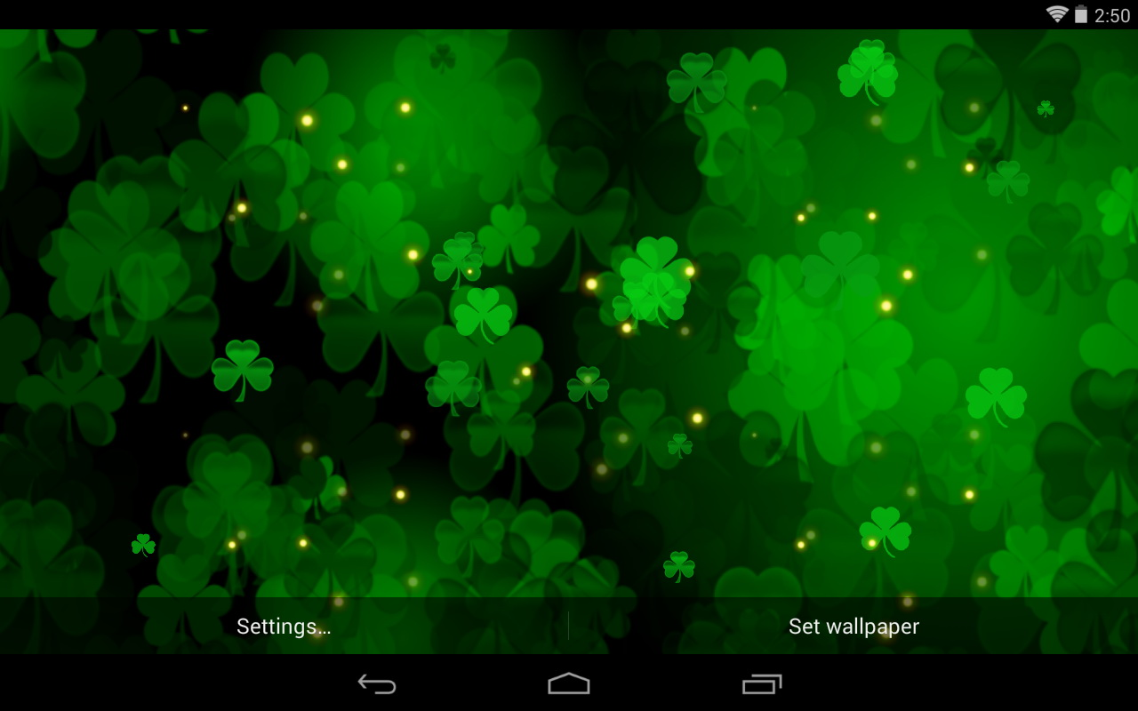 Best St Patricks Day Live Wallpapers   Android Live Wallpaper 1280x800