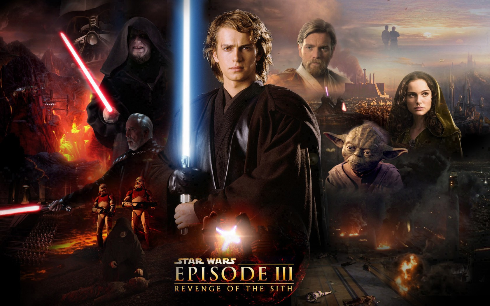 Star Wars Wallpaper episode 3 revenge of the sith Anakin Skywalker 1680x1050