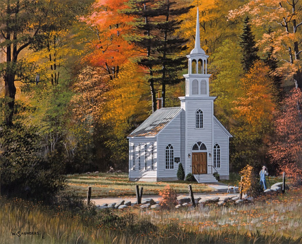 Lang Desktop Wallpaper October 2015 Country Churches ART Lang 1024x829