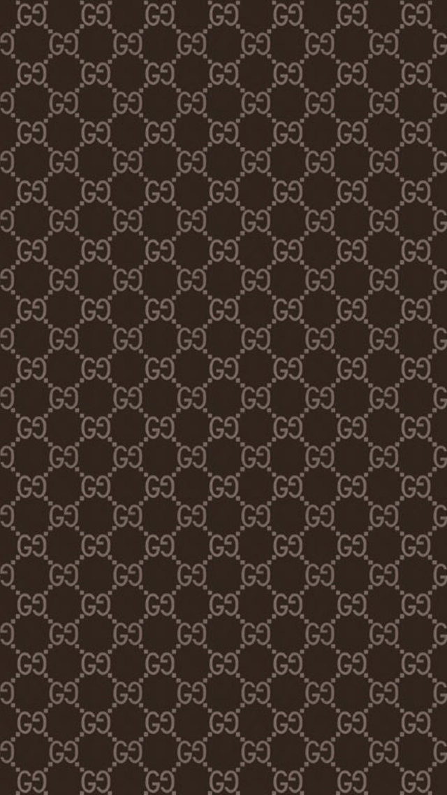 Basic Brown Gucci Wallpaper Wallpaper for iPhone 5 640x1136