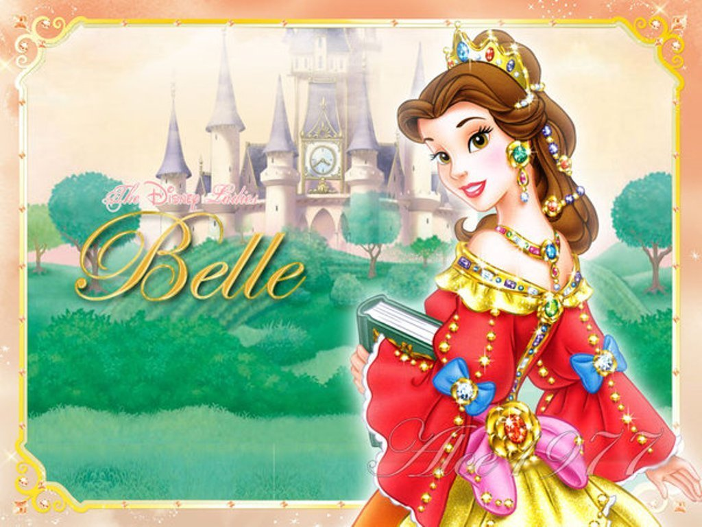 Disney Princess Belle 1024x768