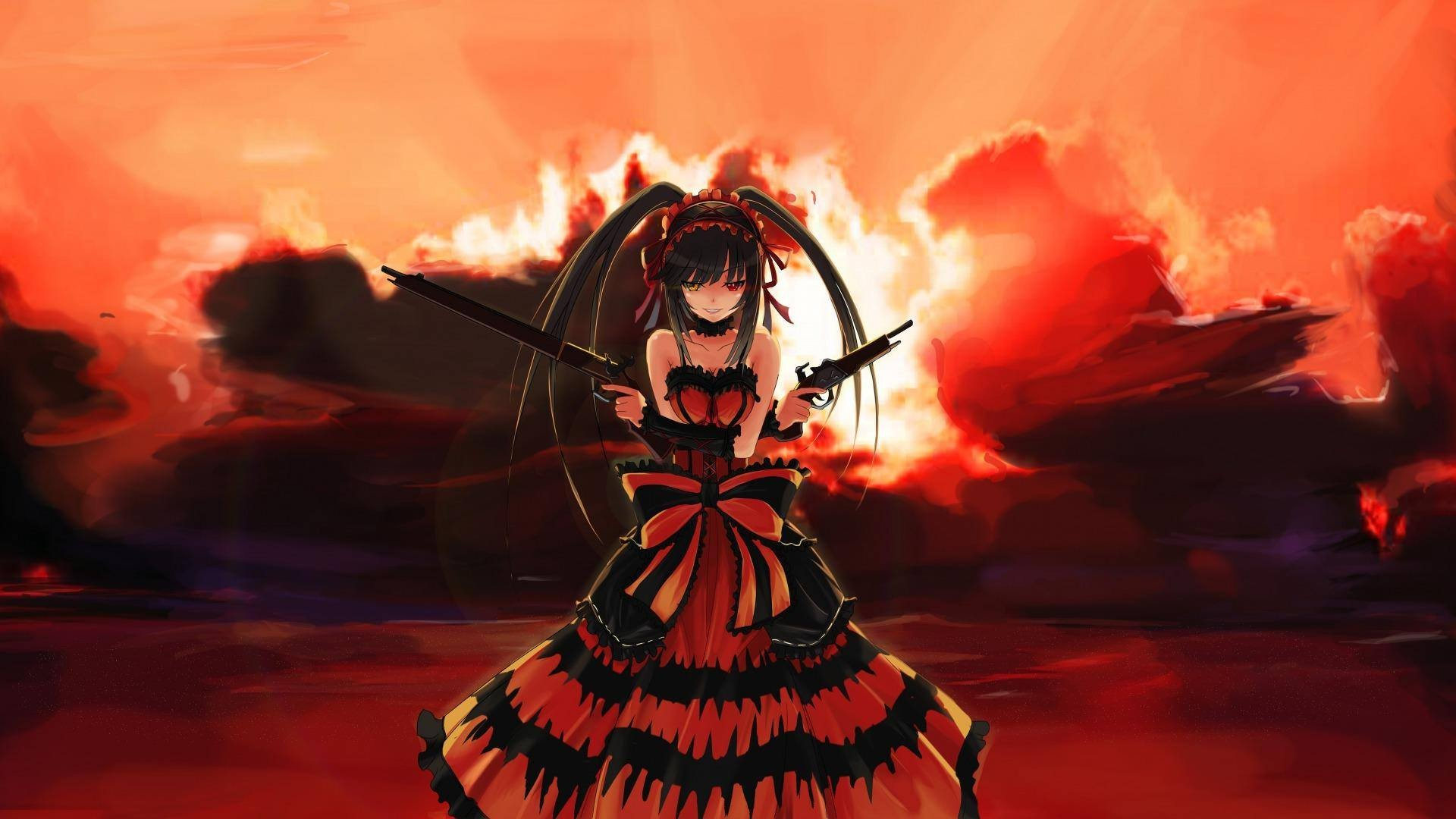 4524824 anime Tokisaki Kurumi Date A Live wallpaper Mocah 1920x1080