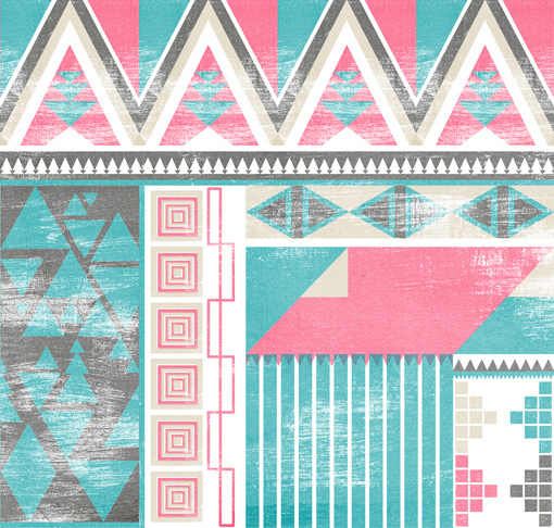 aztec pattern tribal   image 432133 on Favimcom 510x486