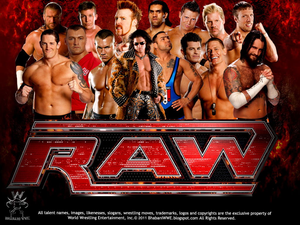 WWE Raw WallpapersWWE Raw Wallpapers 2012 Top sports players 1024x768