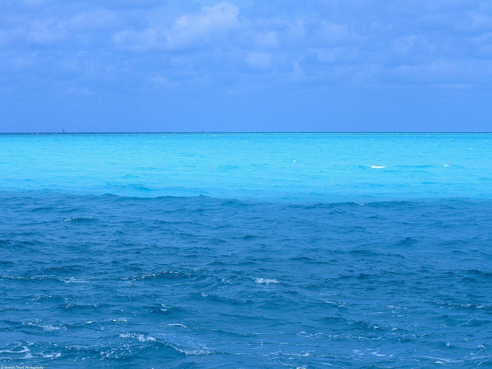 Blue Ocean Backgrounds 1600x1200