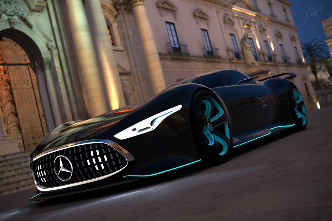 Mercedes Benz AMG Vision GT Racing Series by llkll64 on 1095x730
