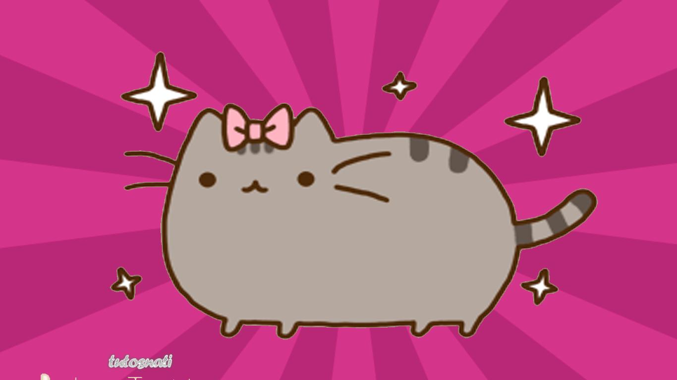 pusheen cat   Pusheen the Cat Photo 37087858 1366x768