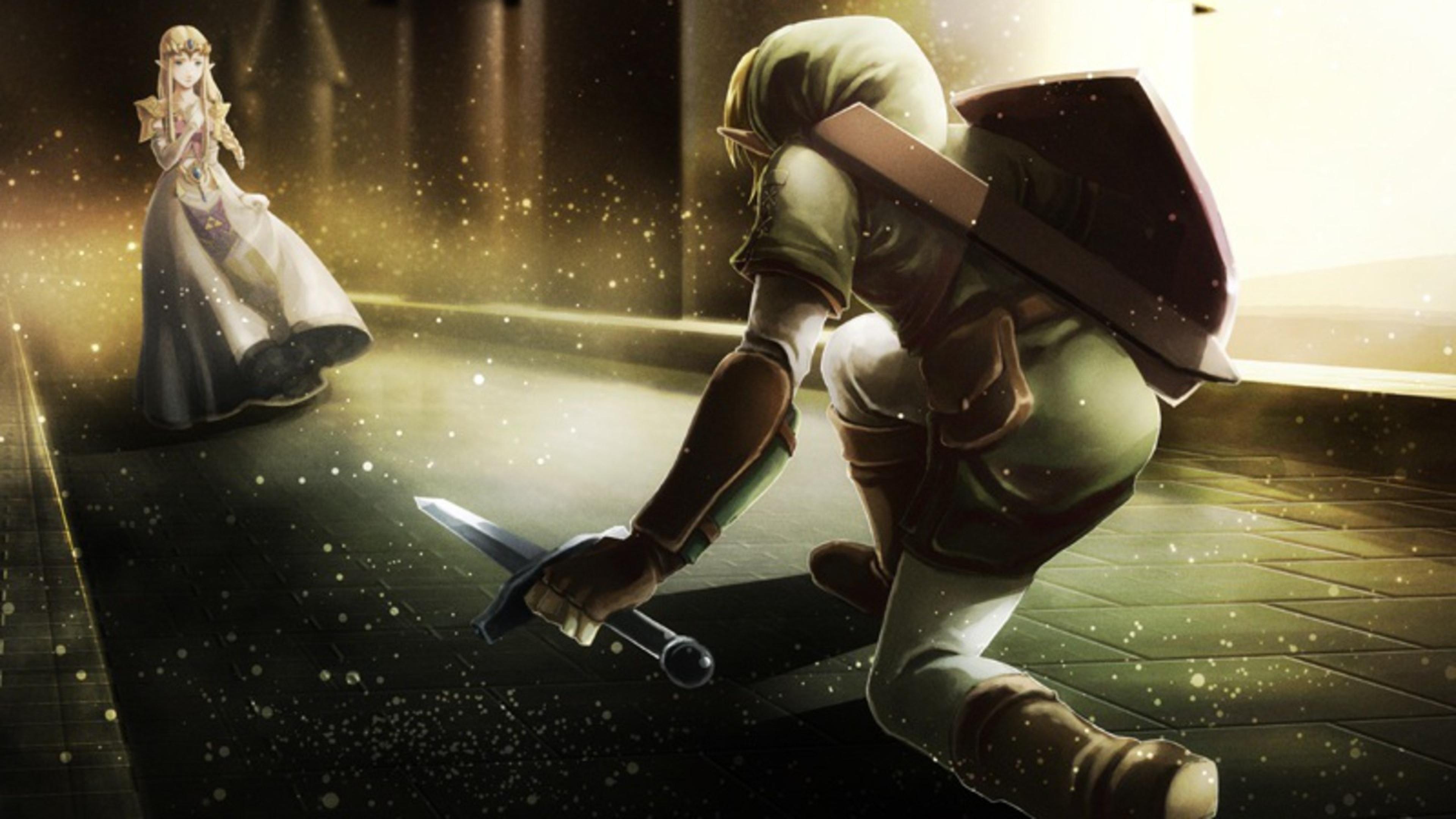zelda Character Elf Princess Link Wallpaper Background 4K Ultra 3840x2160