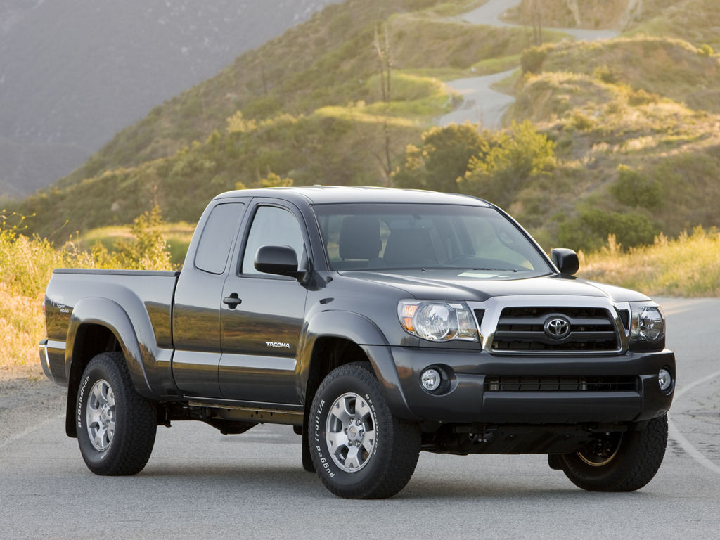 Please right click on the Toyota Tacoma wallpaper below and choose 1024x768