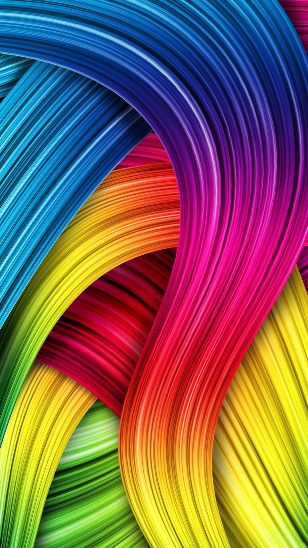 Free Download Rainbow Sony Xperia Z1 Wallpapers For Mobile