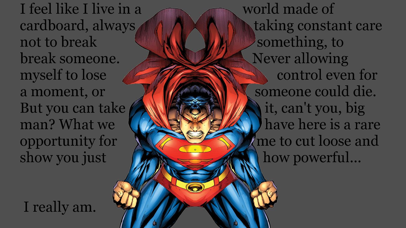 Superman Computer Wallpapers Desktop Backgrounds 1600x900 ID 1600x900