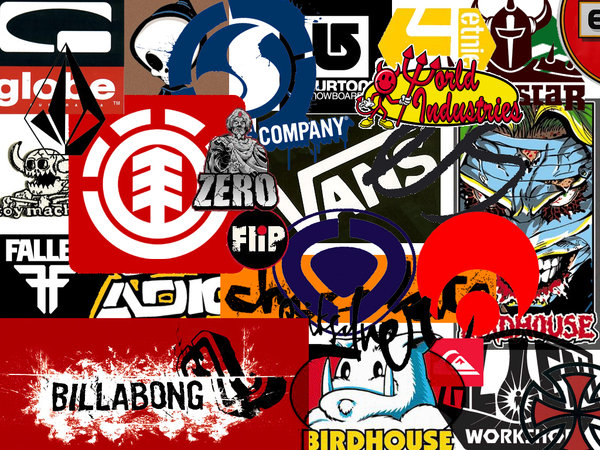 Skateboarding Brands Wallpaper