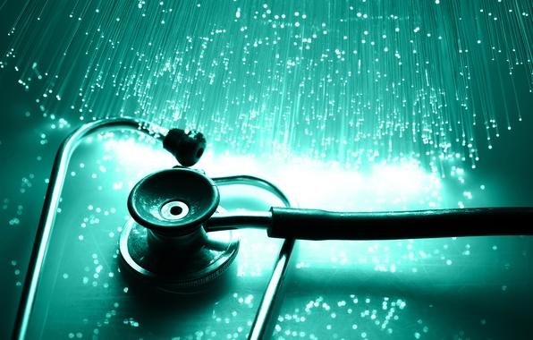 Wallpaper instrument Stethoscope medicine tool images 596x380