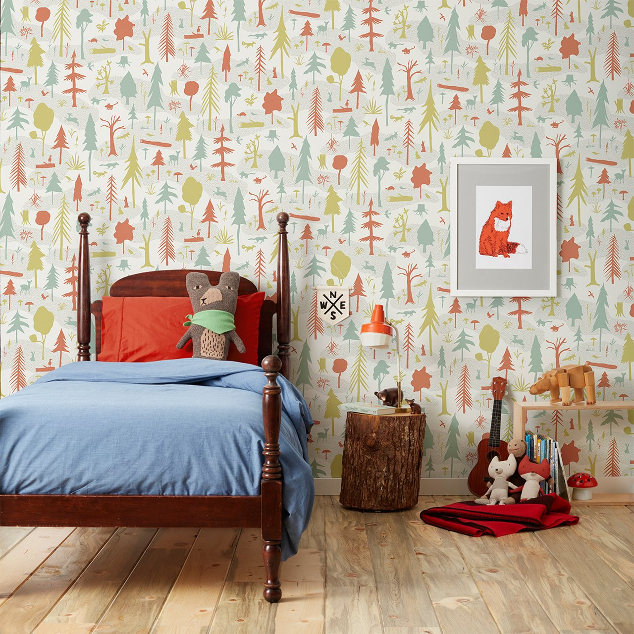 Wilderness by Makelike   Covered Wallpaper 1200x1200