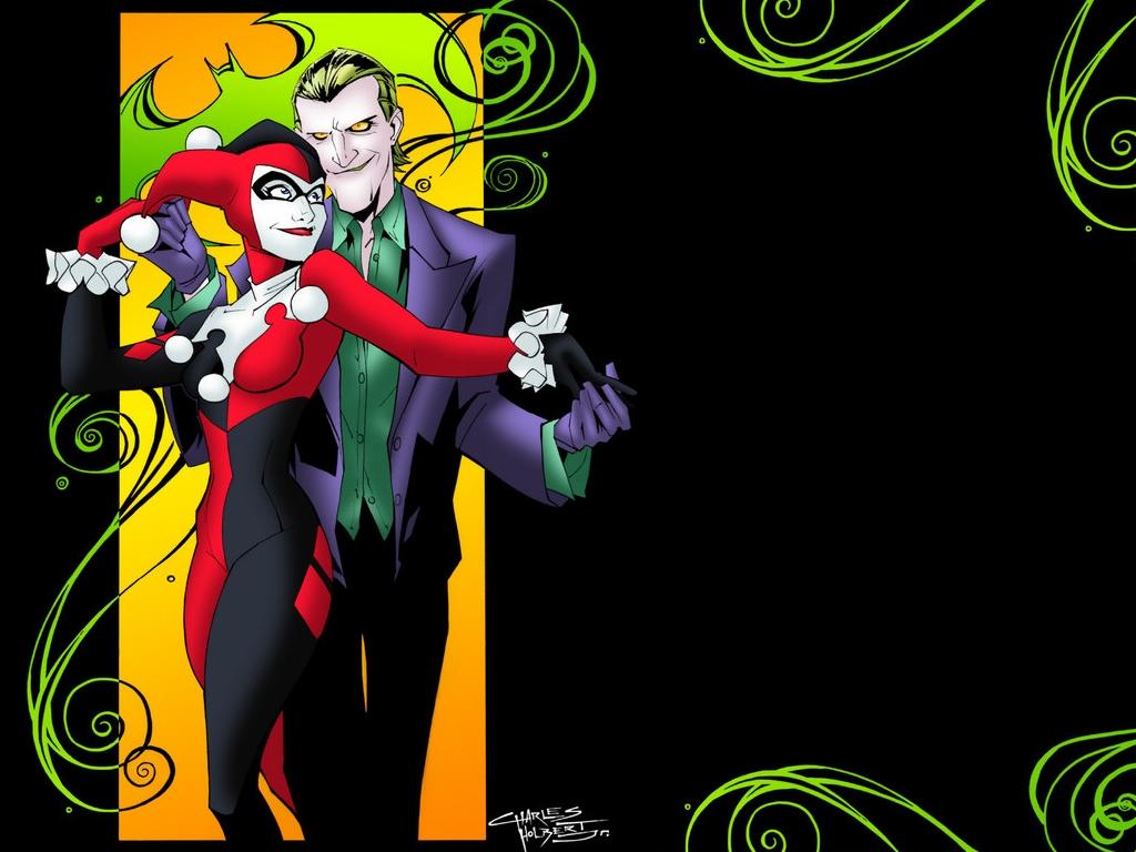 [69+] Joker And Harley Quinn Wallpaper on WallpaperSafari