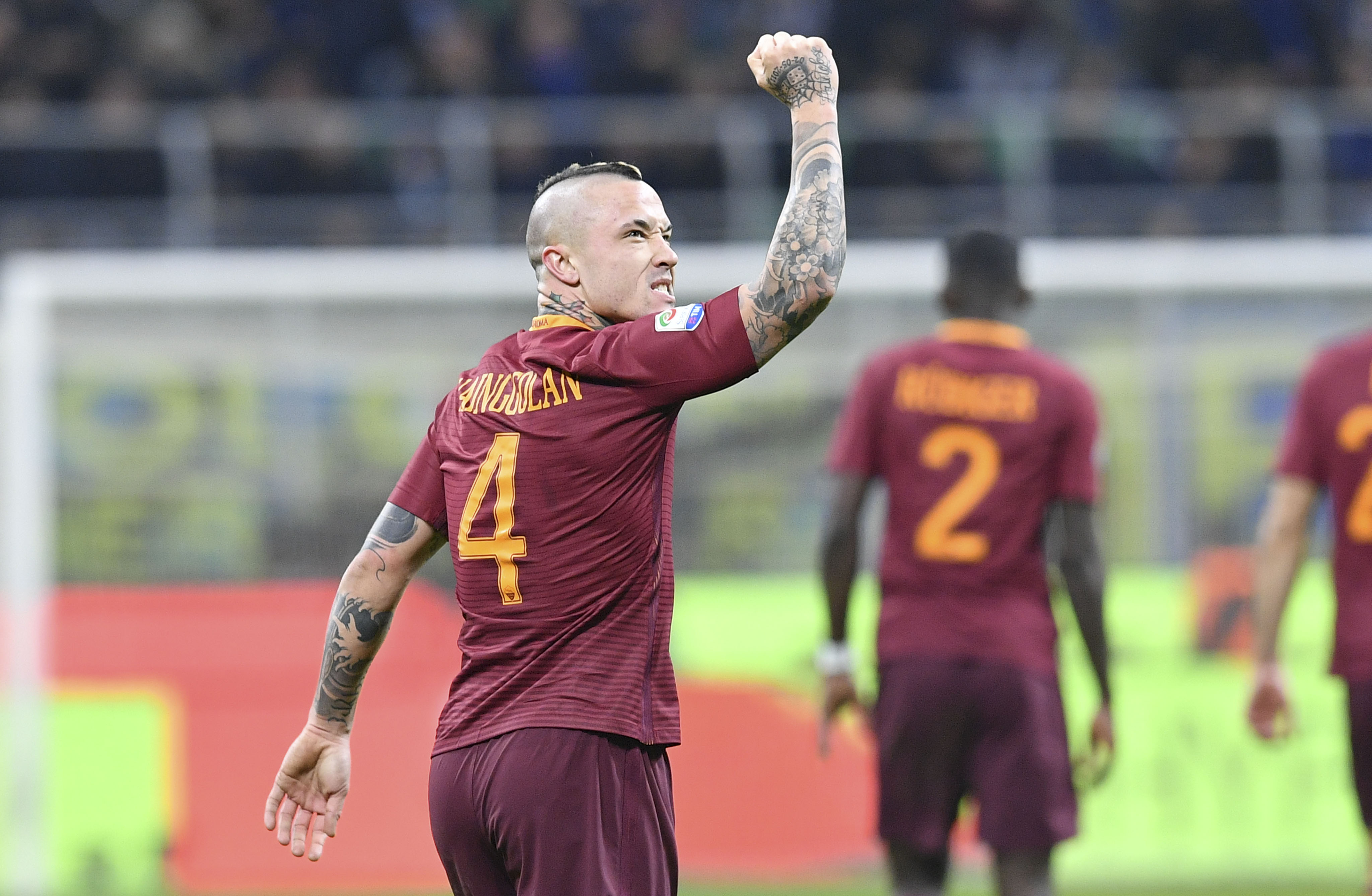 Roma and Nainggolan host Napoli in a huge Serie A clash 4096x2676
