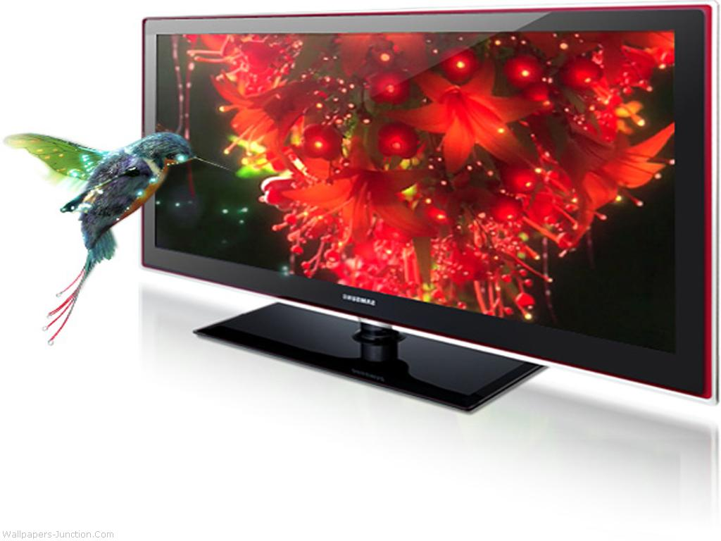 Samsung LED TV Desktop Wallpapers 1024x768