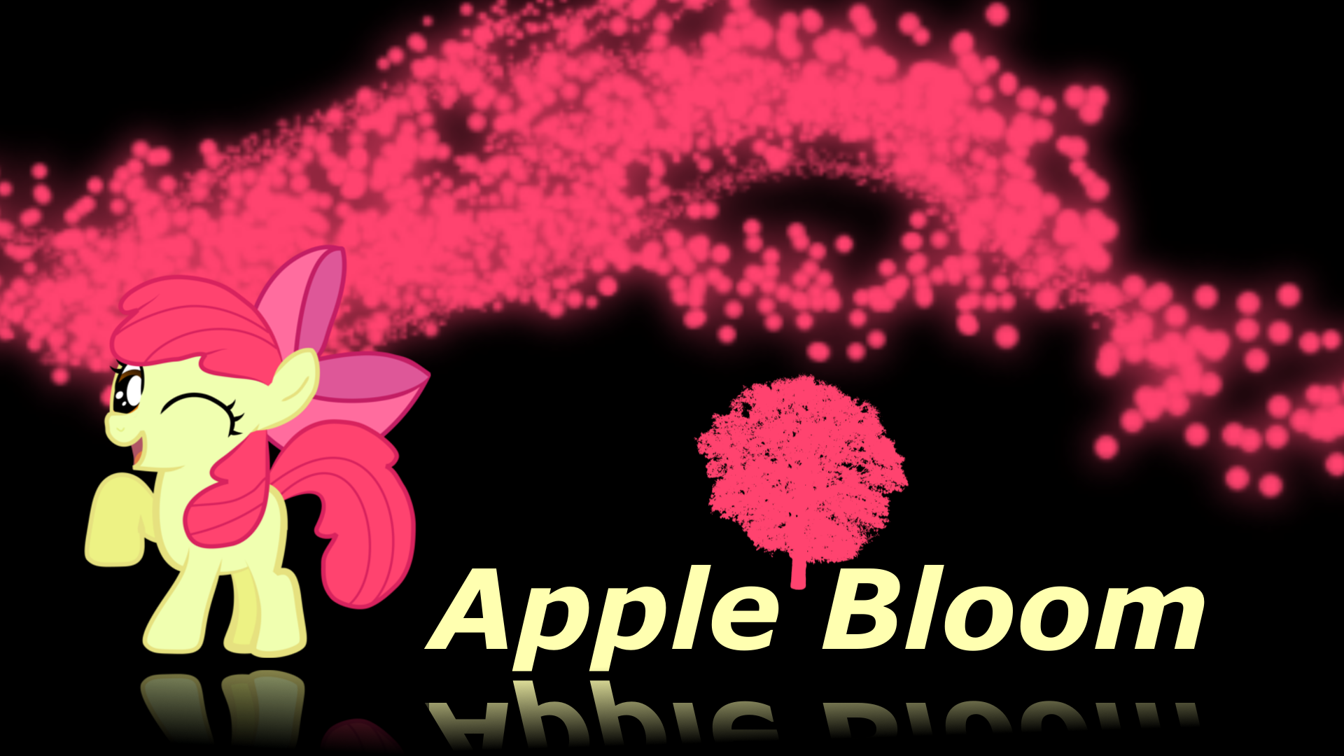 Apple Bloom Wallpaper by XVanilla TwilightX on deviantART 1920x1080