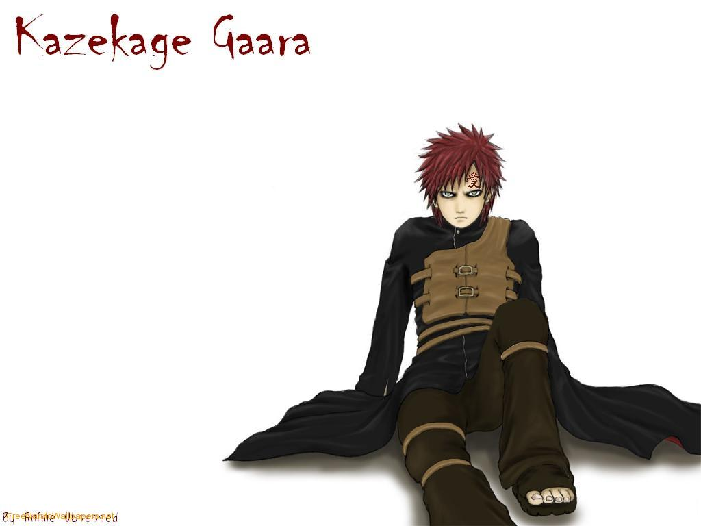 SandStorms Diary A Tribute to Gaara The Fifth Kazekage 1024x768