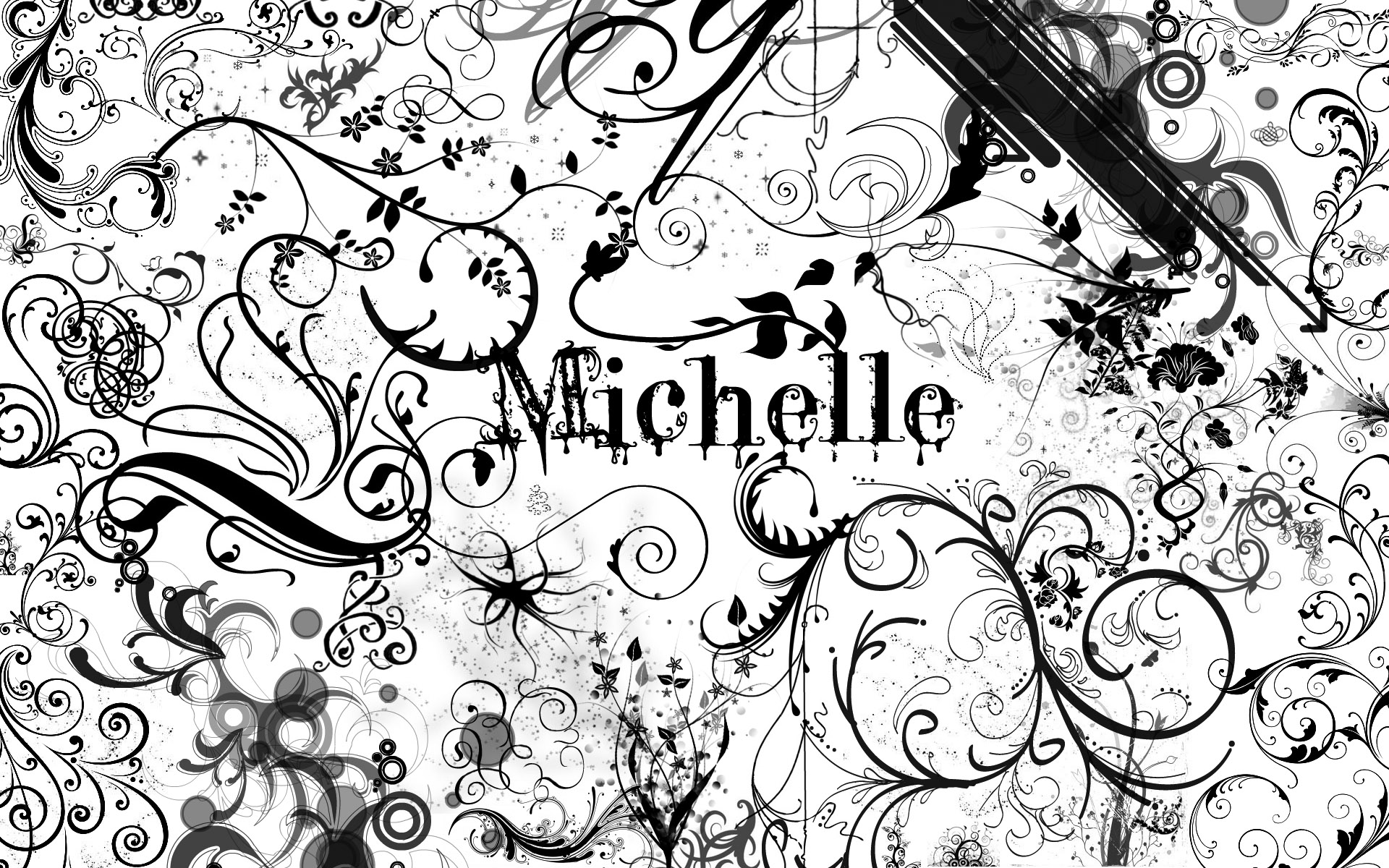 48] Michelle Name Wallpaper on WallpaperSafari 1920x1200