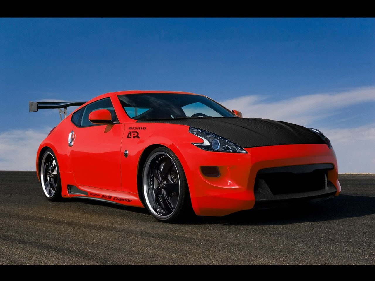 nissan 370z wallpaper by dj heat customization wallpaper vehicles 2009 1280x960