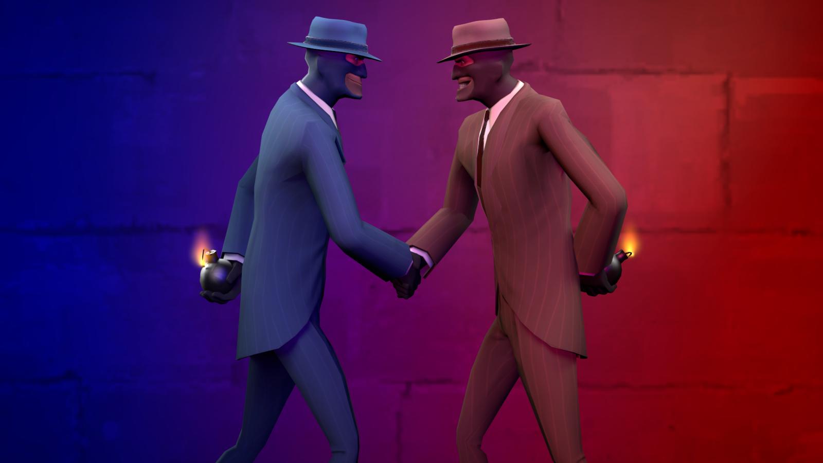 Spy vs Spy by Cronus1066 1600x900
