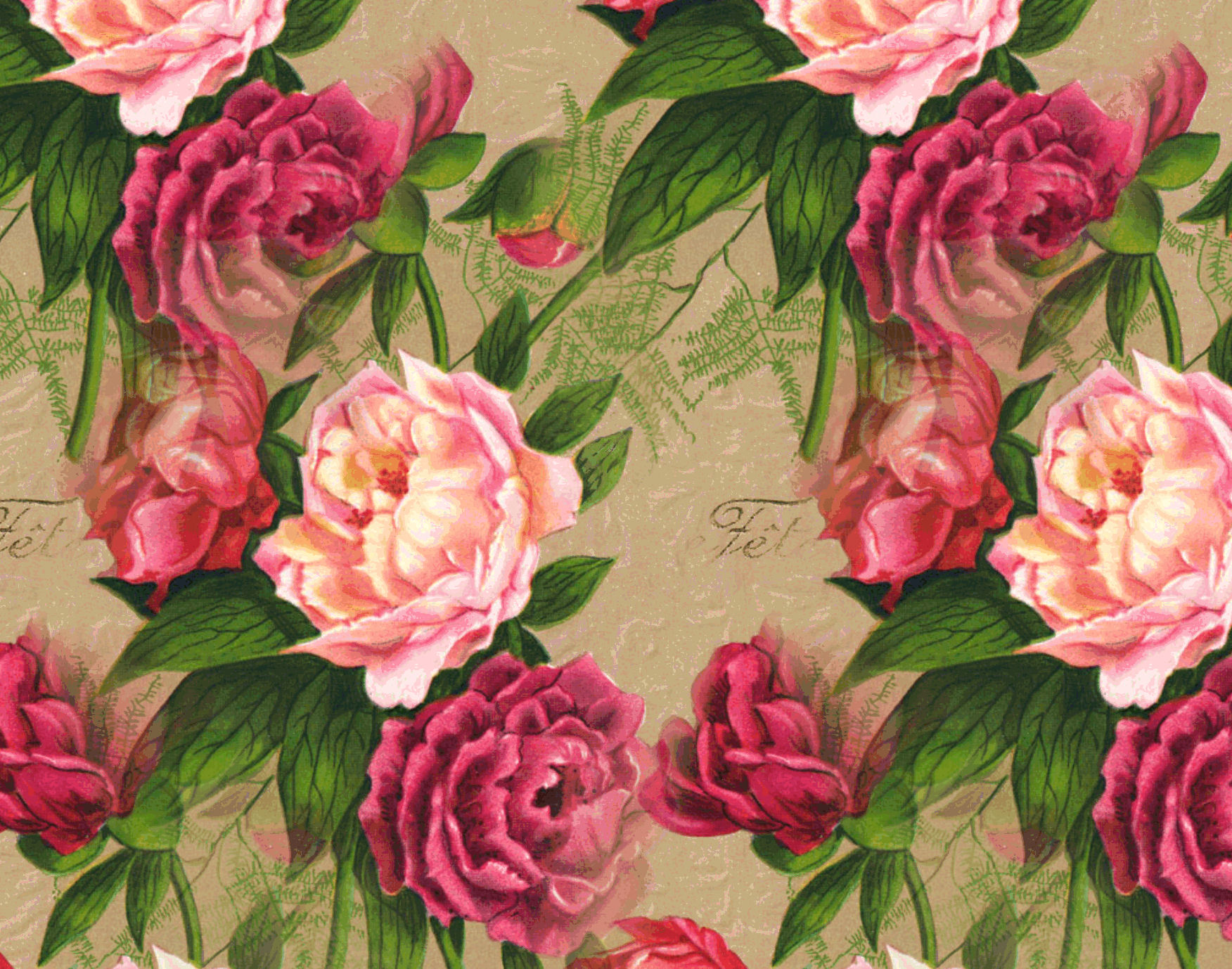 Antique Rose Wallpaper - WallpaperSafari