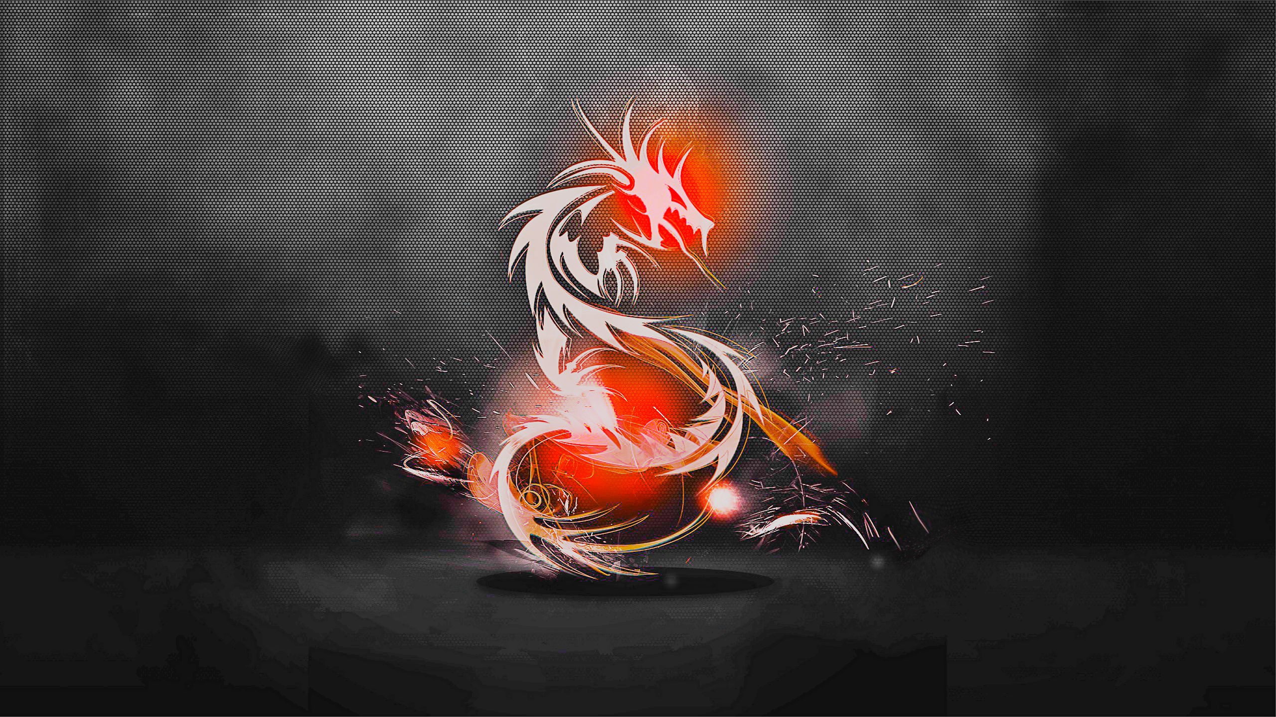 Cool Red Dragon Wallpaper Abstract dragons wallpaper 2560x1440