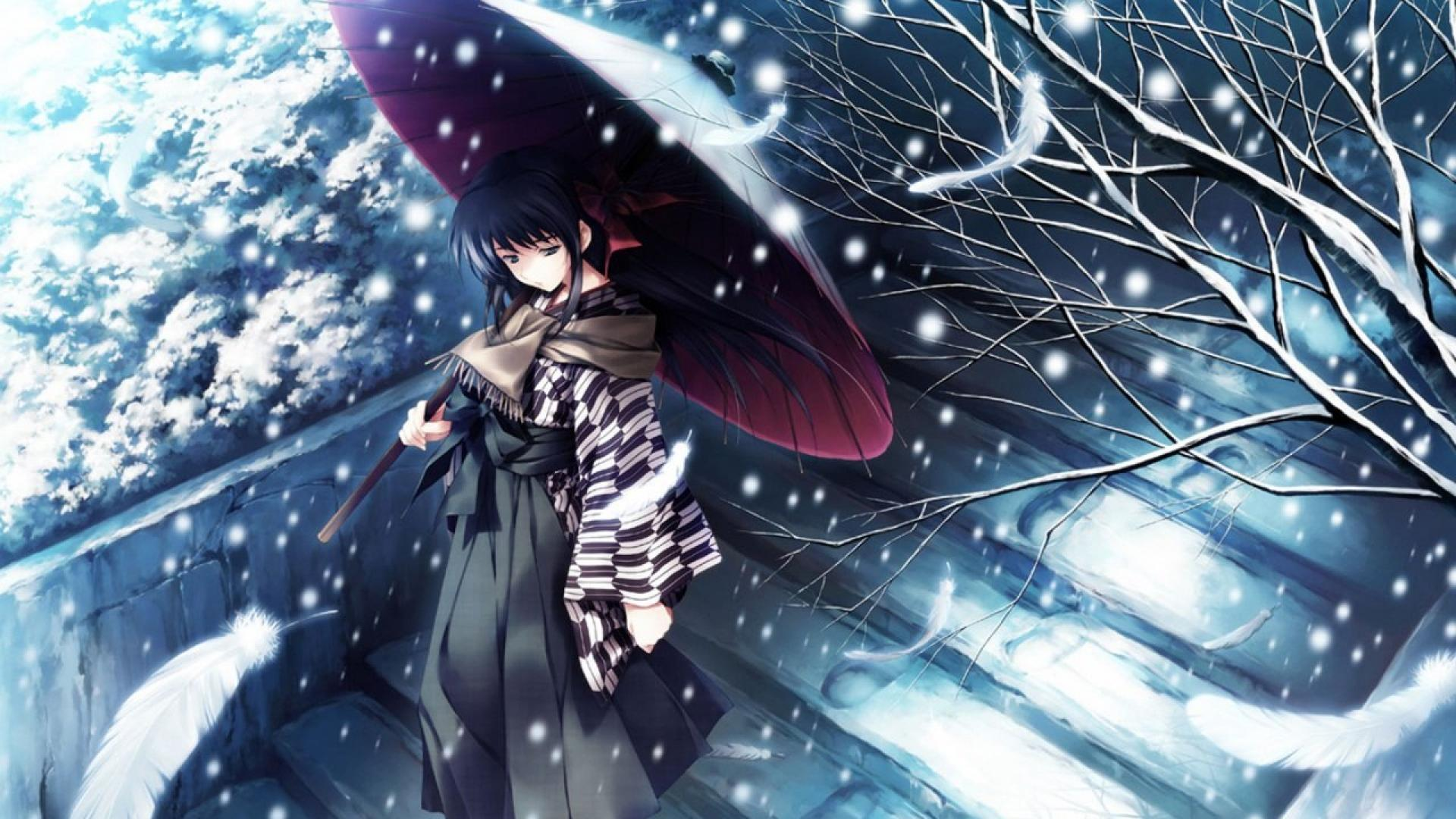 Winter Anime Wallpapers 1920x1080