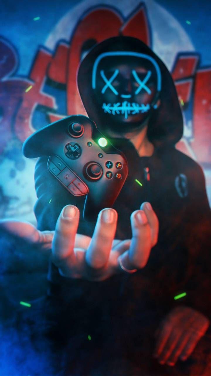 Download Neon Boy Xbox wallpaper by AmazingWalls   c0   on 720x1280