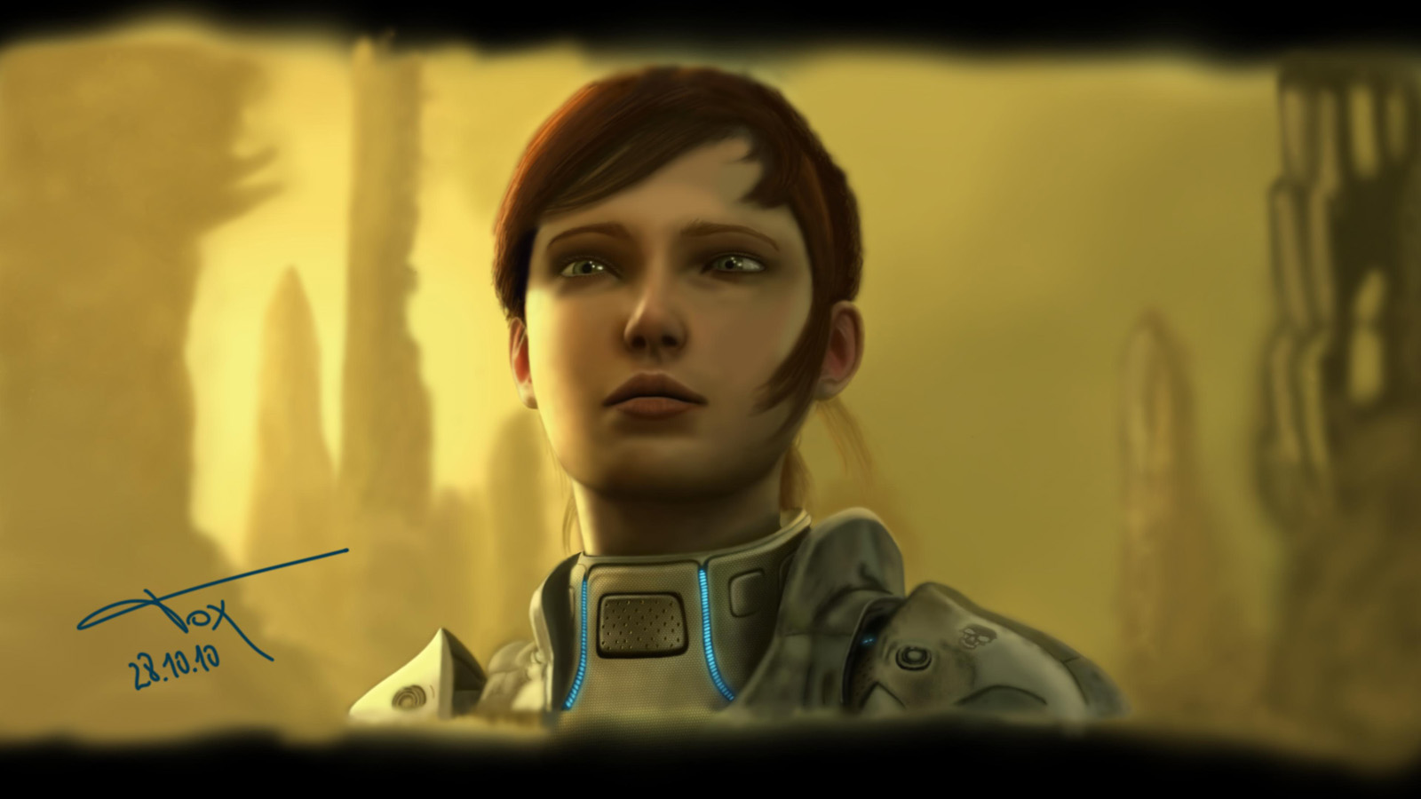 Sarah Kerrigan Starcraft 1600x900