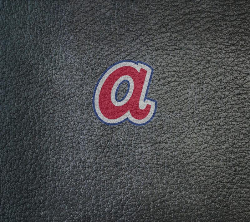 atlanta braves logo wallpaper wallpapersafari