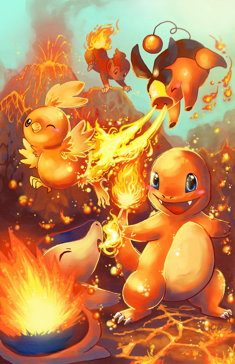 74 Fire Pokemon Wallpaper On Wallpapersafari