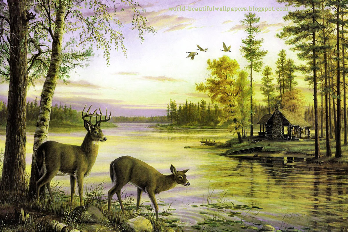 nature painting wallpaper   Nature Wallpaper 1200x800