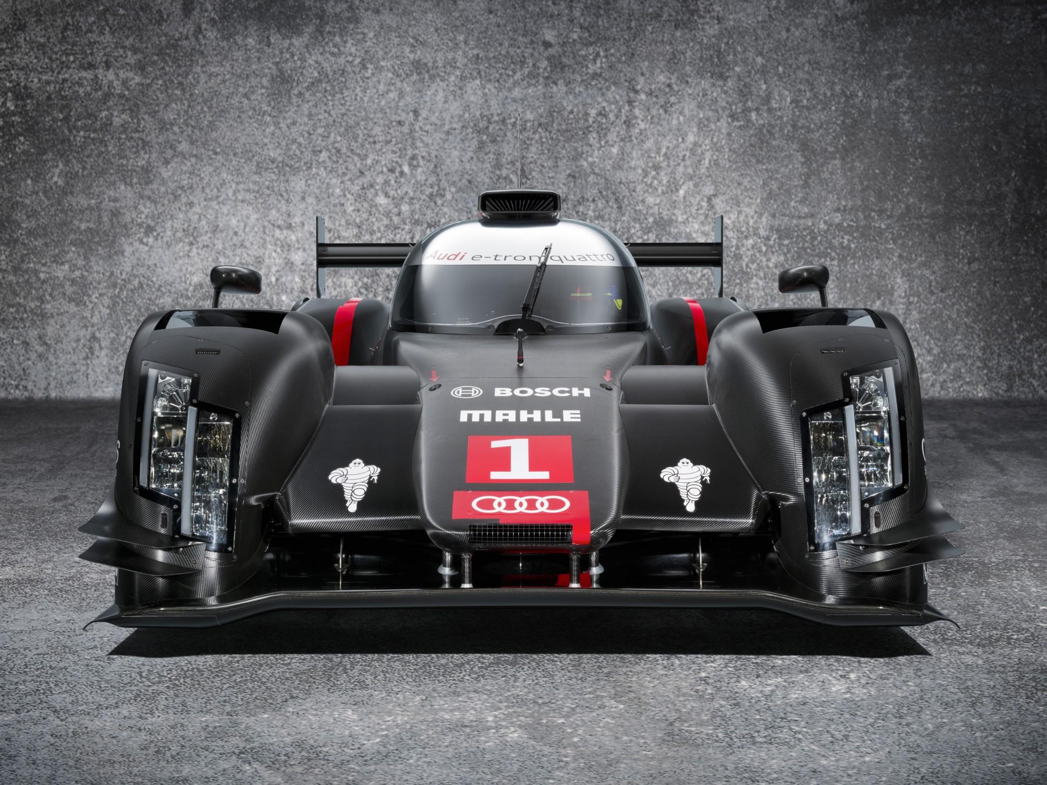 2014 Audi R18 e Tron quattro le mans prototype race racing f wallpaper 2048x1536