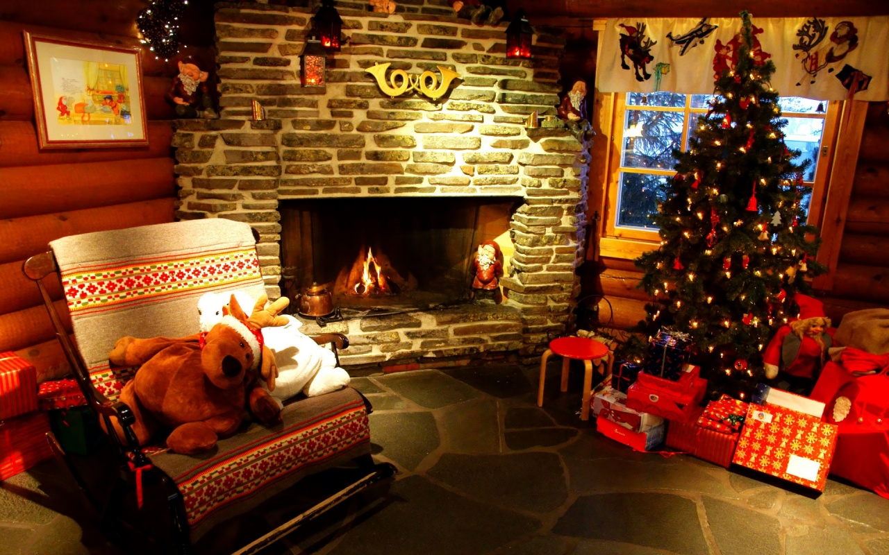 Christmas home   Daydreaming Wallpaper 27551844 1280x800