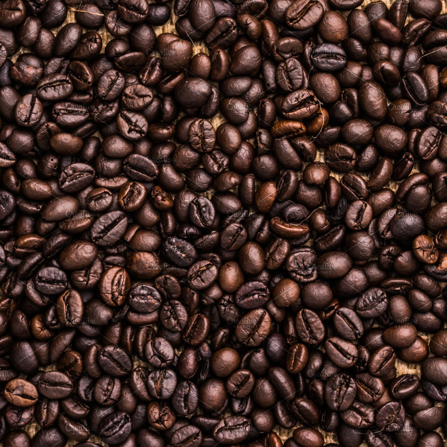 Roasted coffee bean background High Quality Food Images 1820x1820