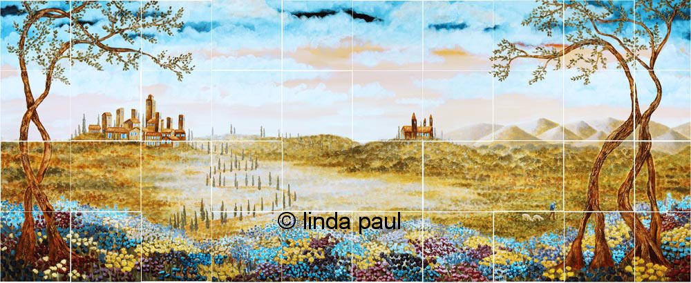 tuscan wallpaper murals   weddingdressincom 1000x410