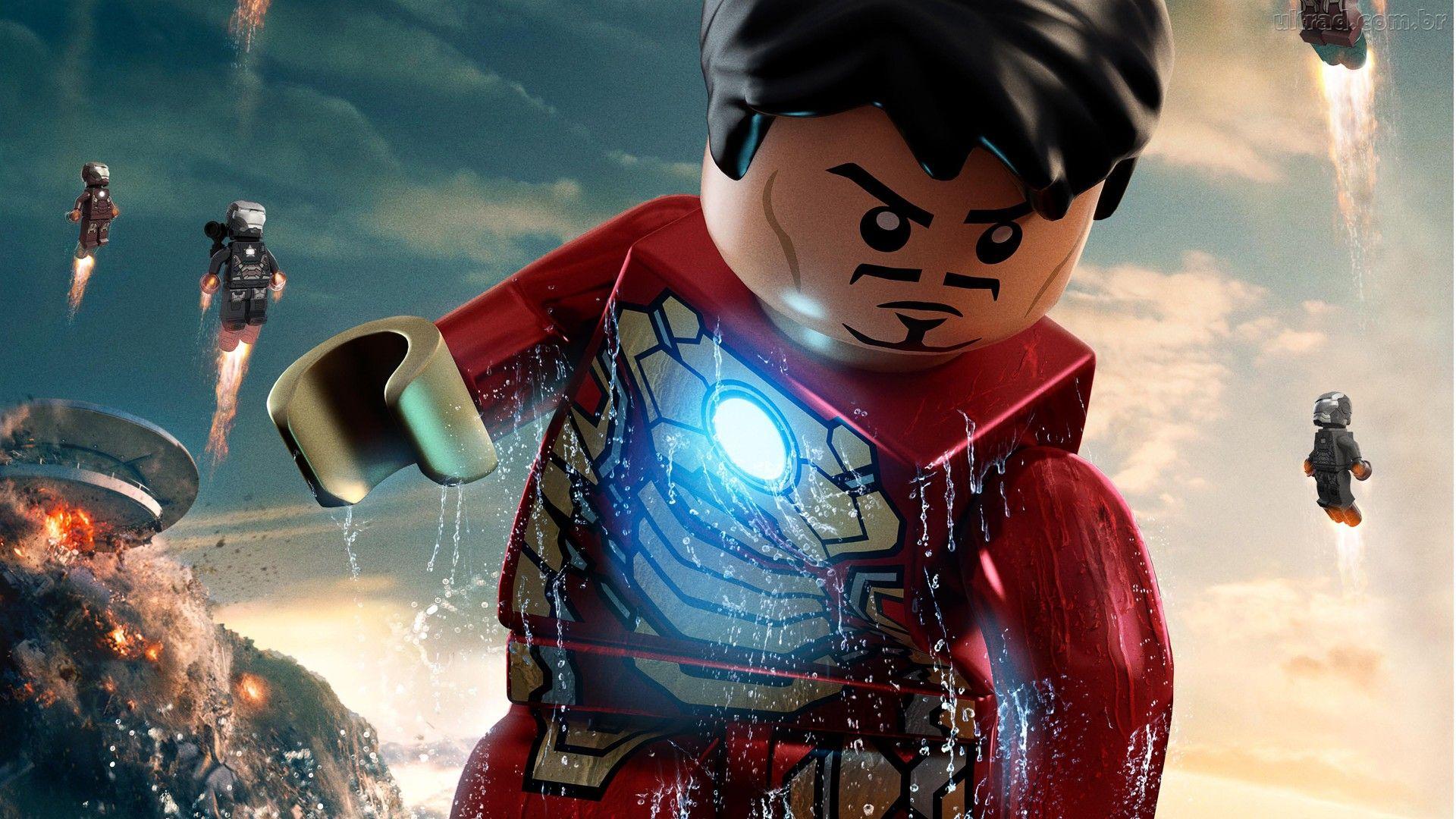 50 lego spiderman wallpaper on wallpapersafari - Avengers superhero wallpaper ...