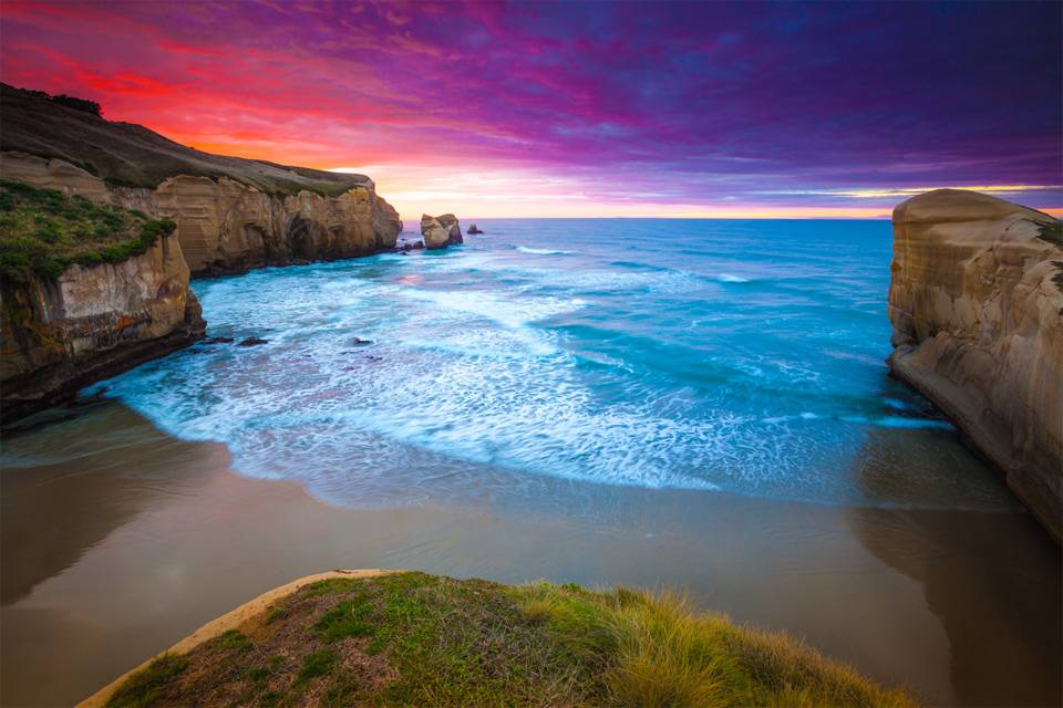 tunnels beach new zealand wallpaper and this is best place for new ...