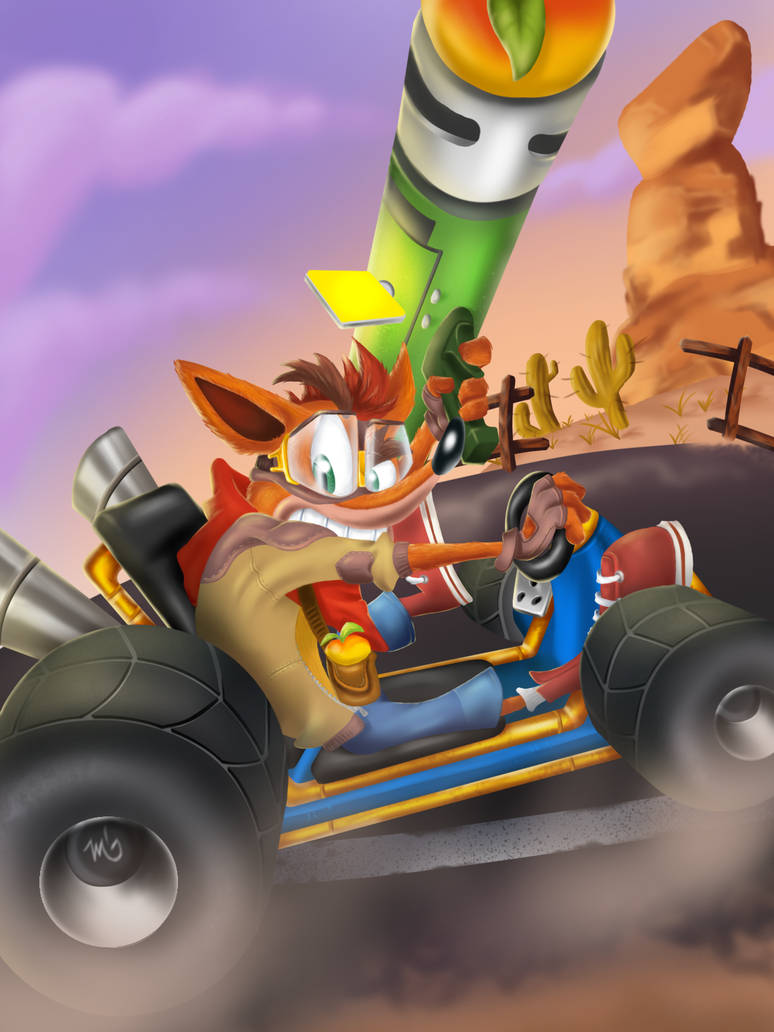 Crash Team Racing Nitro Fueled by MarcStrong 774x1032