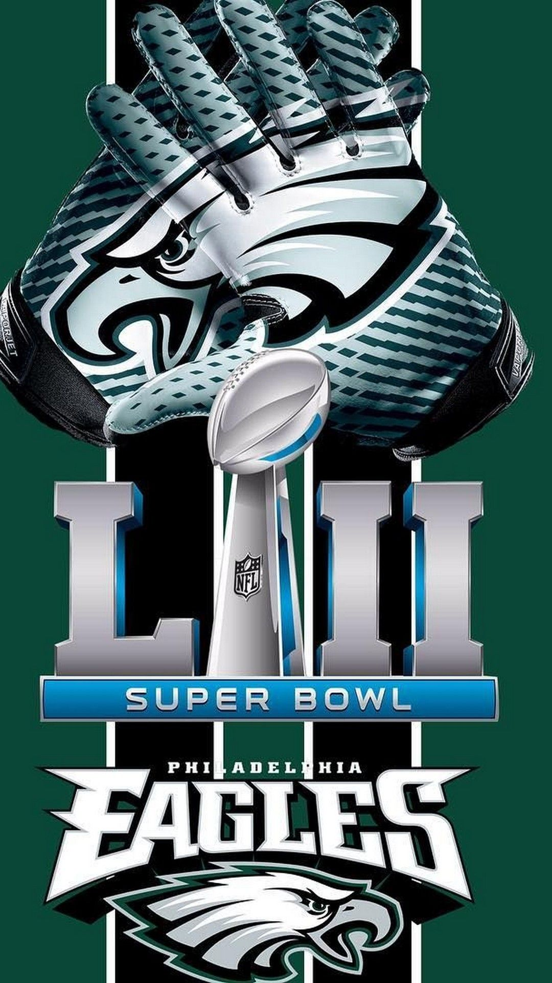 NFL Eagles iPhone 8 Wallpaper Philadelphia eagles Philadelphia 1080x1920