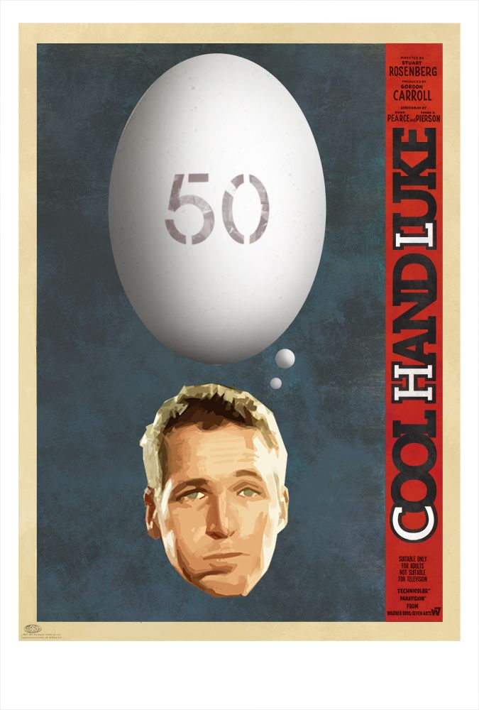 OC] Cool Hand Luke 1967[675 X 1000 Cool hand luke Movie 675x1000