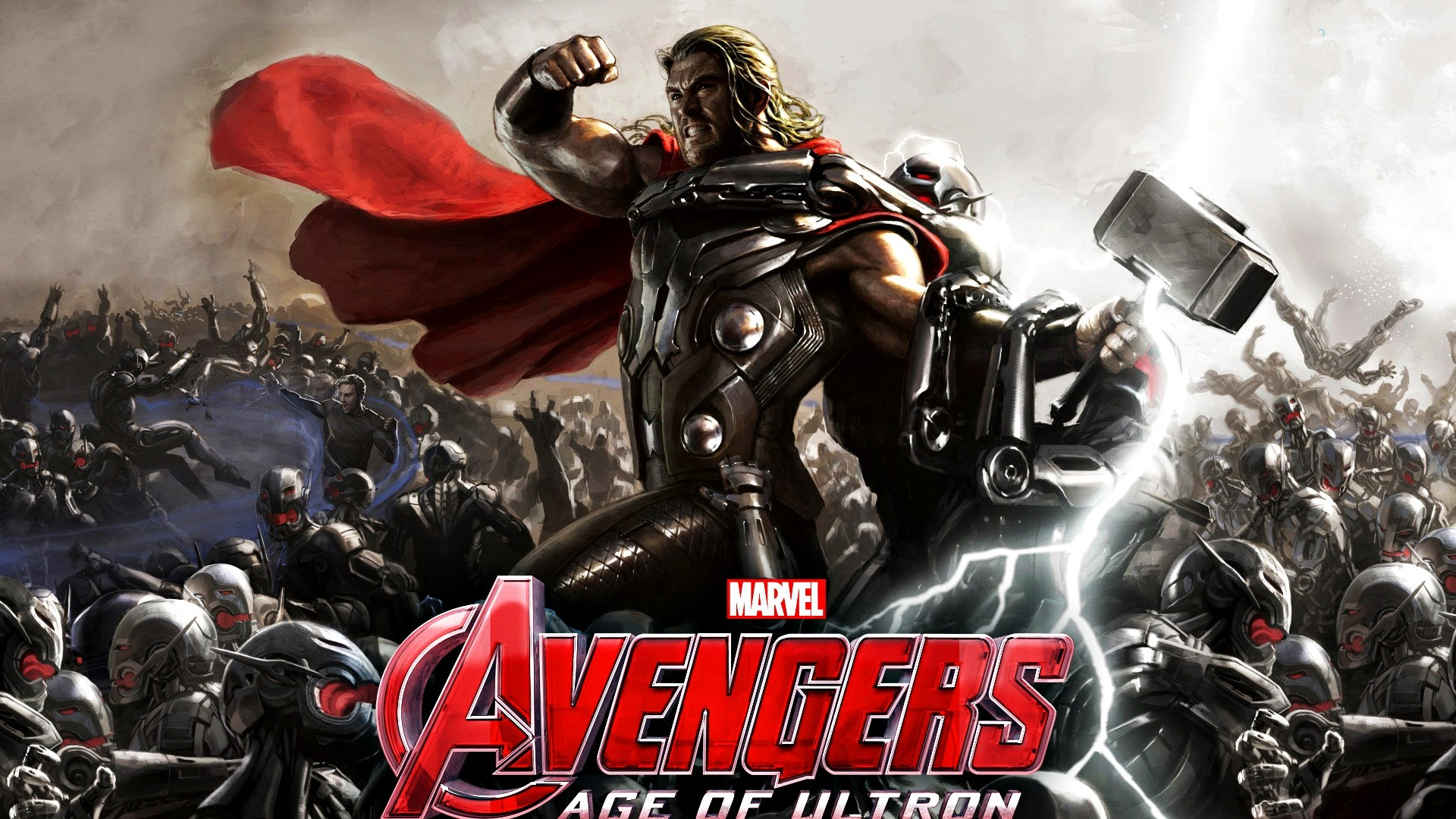 Thor in Avengers 2 Age of Ultron Widescreen and Full HD Wallpapers 1920x1080