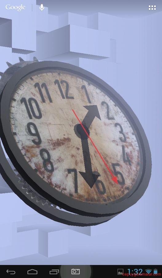 3d clock wallpaper - photo #24