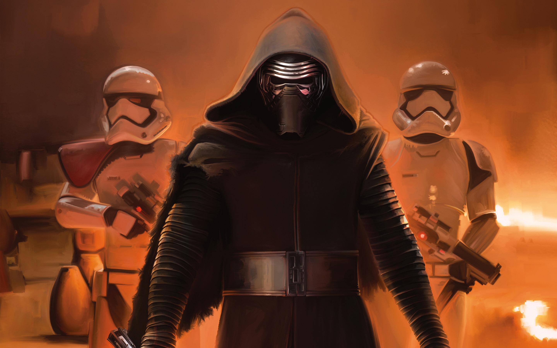 Star Wars The Force Awakens Kylo Ren Wallpapers HD Wallpapers 2880x1800